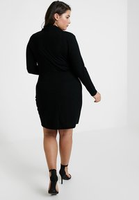 Pink Clove - DOUBLE BREASTED BUTTON DRESS - Jerseykleid - black - 2