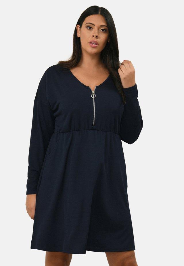 ZIP FRONT - Robe d'été - blue
