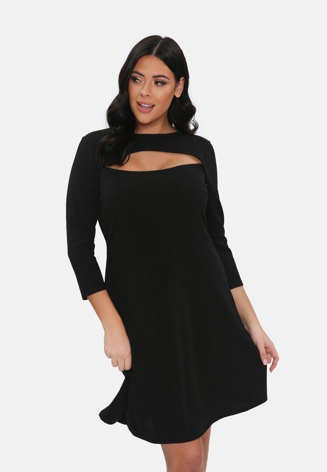Korte jurk - black