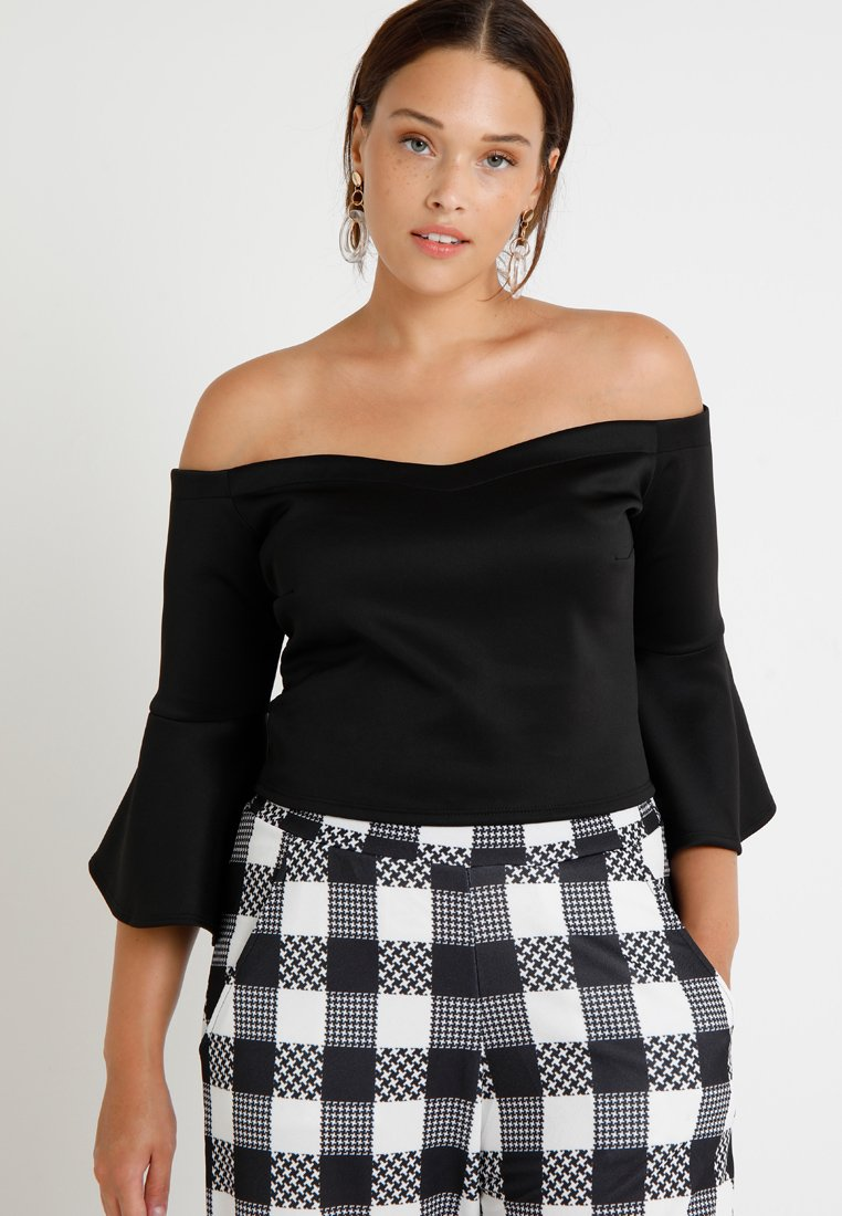 Pink Clove - BARDOT - Long sleeved top - black
