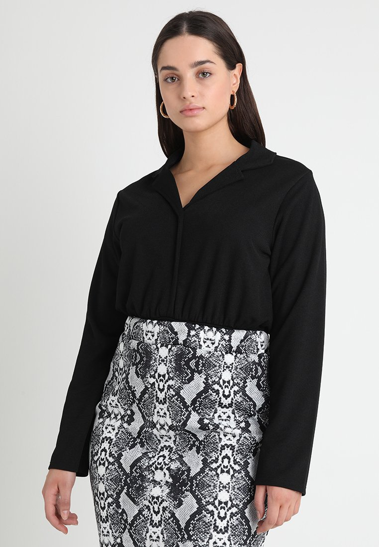 Pink Clove - SHIRT BODY - Långärmad tröja - black