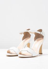 Pier One Wide Fit - Zapatos de novia - white - 4