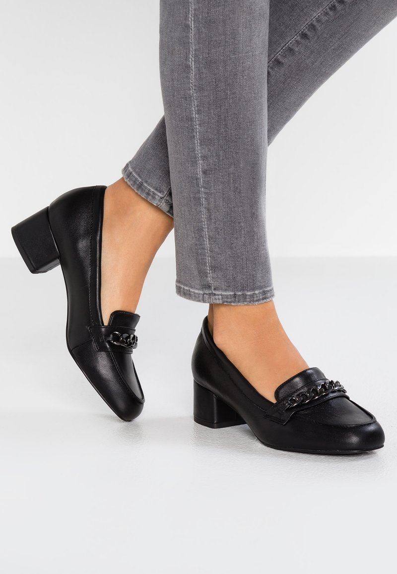 Pier One Wide Fit - Classic heels - black