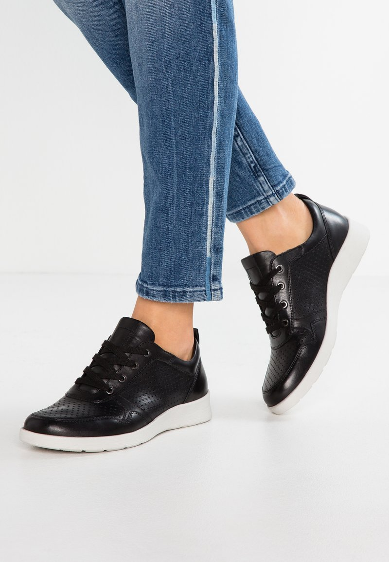 Pier One Wide Fit - WIDE FIT - Trainers - black