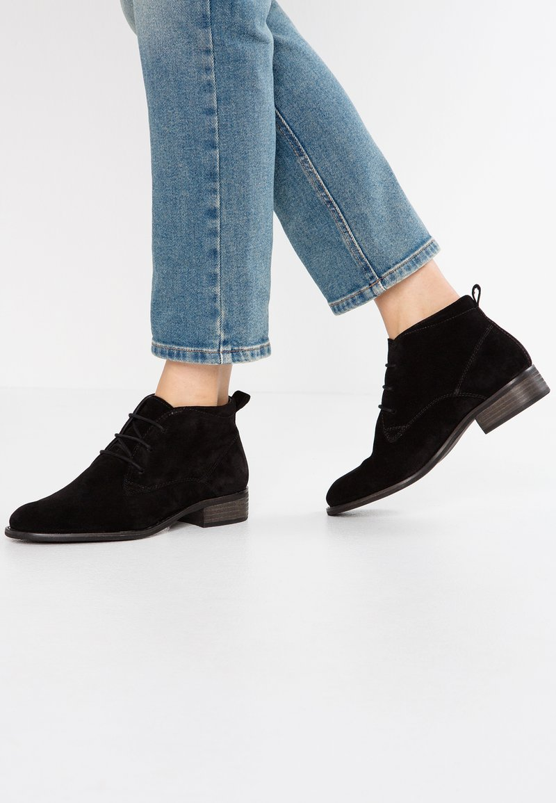 Pier One Wide Fit - WIDE FIT - Ankle boots - black