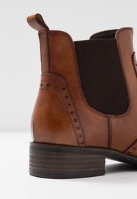 Pier One Wide Fit - Ankle boots - cognac - 2