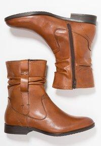Pier One Wide Fit - Classic ankle boots - cognac - 3