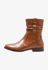 Pier One Wide Fit - Classic ankle boots - cognac - 1