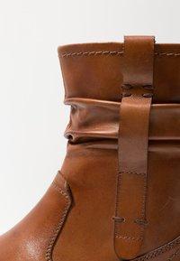 Pier One Wide Fit - Classic ankle boots - cognac - 2