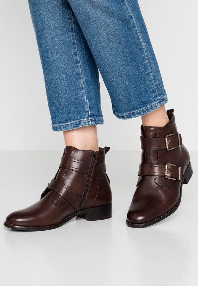 Ankle Boot - dark brown
