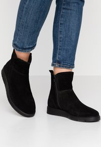 Pier One Wide Fit - Kotníkové boty - black - 0
