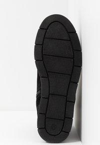 Pier One Wide Fit - Kotníkové boty - black - 6