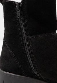 Pier One Wide Fit - Kotníkové boty - black - 2