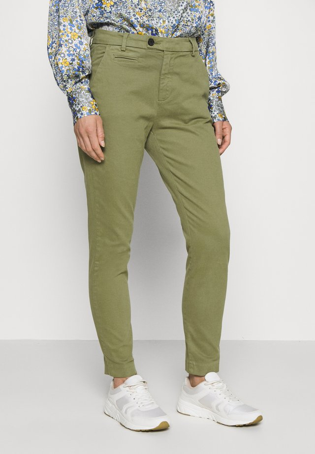ANIKA  - Chinos - dusty bright army