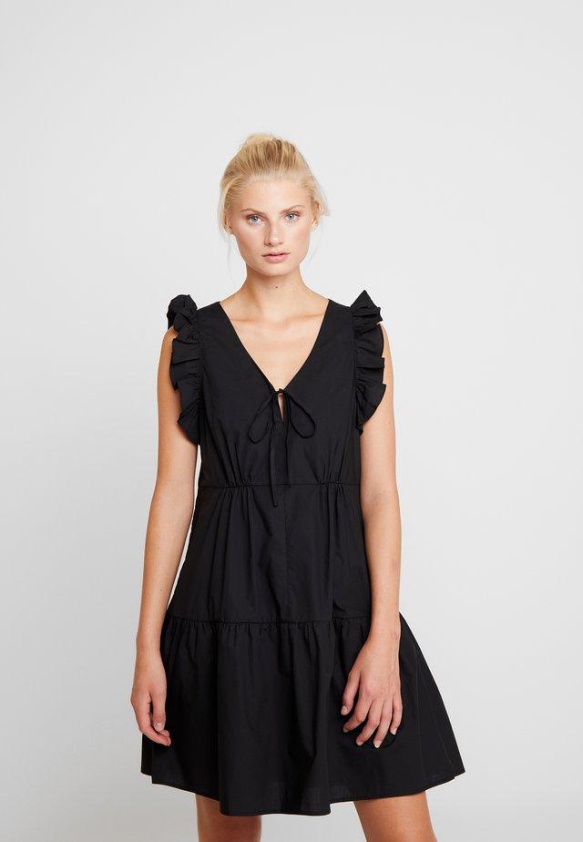 ECLIPSE DRESS - Freizeitkleid - black