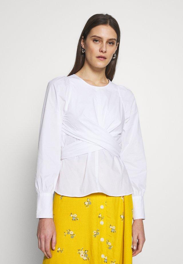 ELISA WRAP - Bluse - white