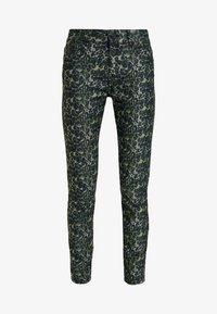 Pieszak - DIVA CROPPED FUNKY LEOPARD - Jeans Skinny Fit - green - 3