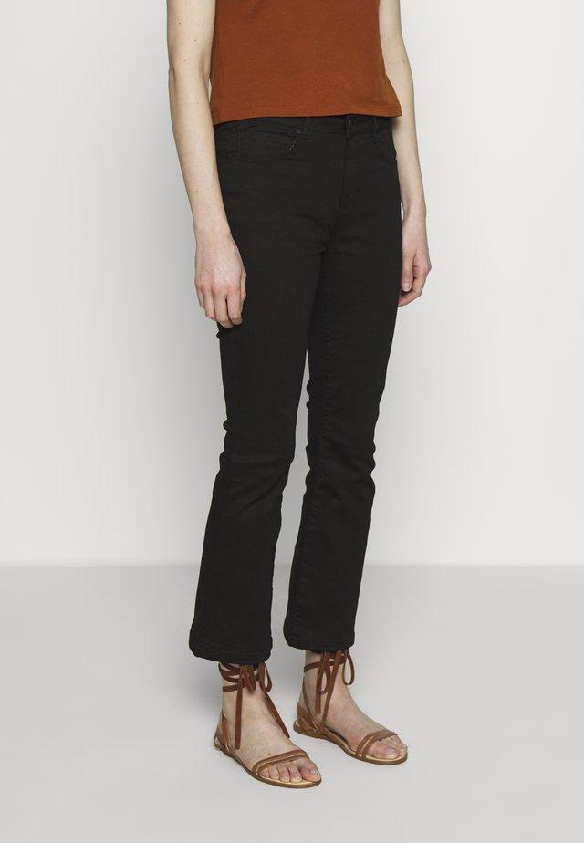 JELENA KICK ULTIMATIVE - Flared Jeans - black