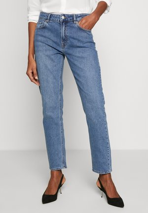 EMILY MOM ORIGINAL MAYFAIR - Jeans Straight Leg - denim blue
