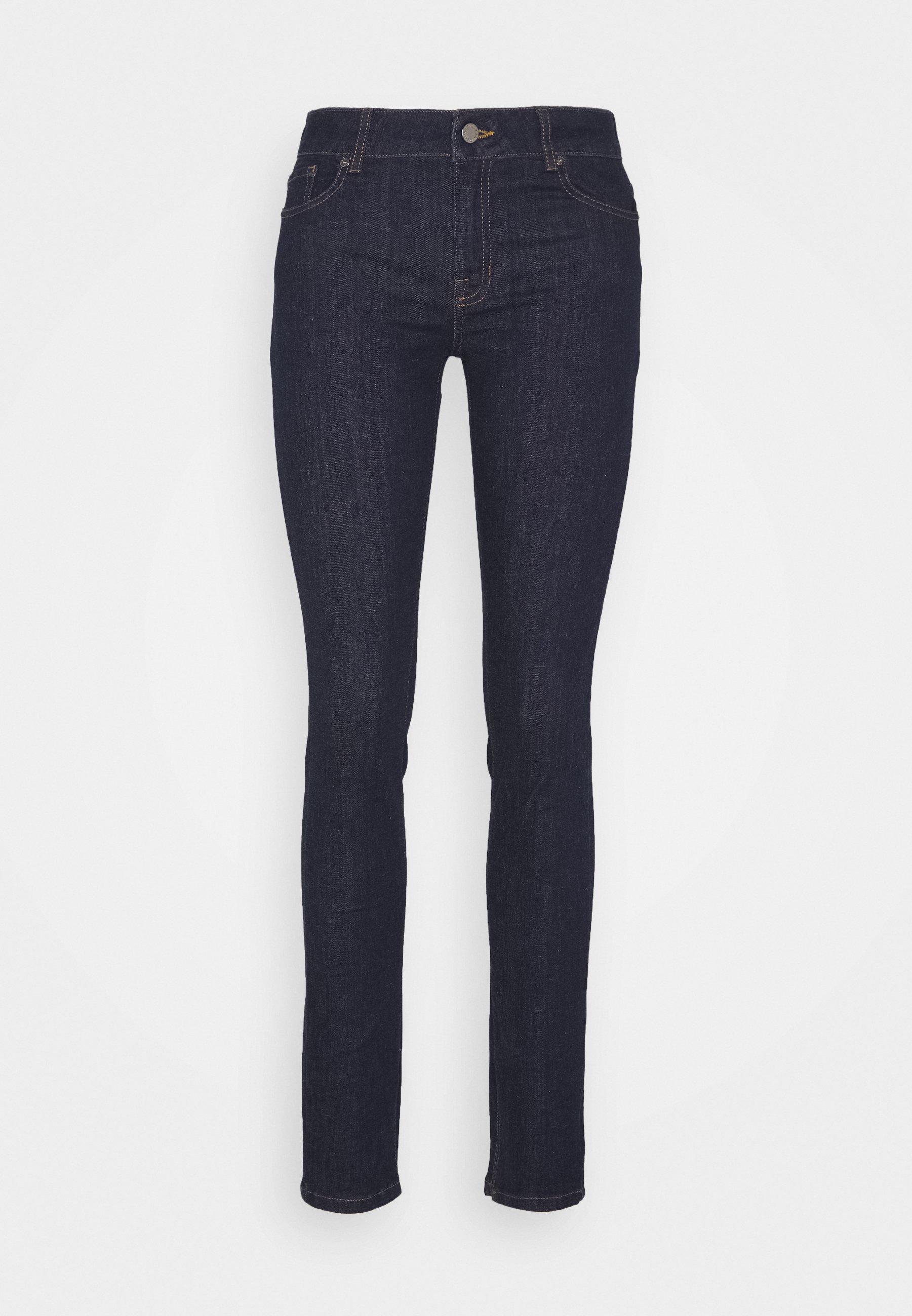 Pieszak Diva Split Clean Washington - Jeans Skinny Dark-blue Denim Ddx6GXx