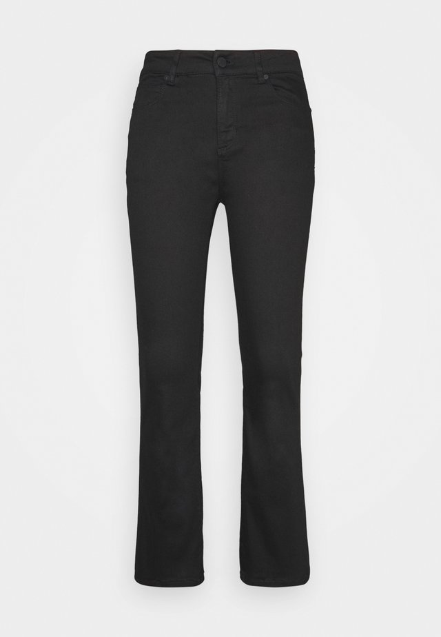 JELENA KICK FLARE - Jeansy Skinny Fit - ultimate black