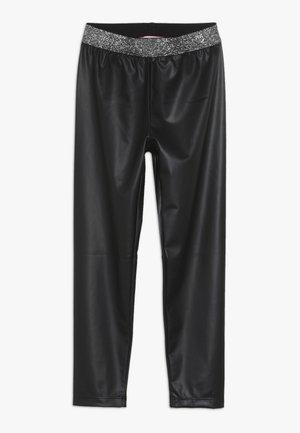 OCULISTA SIMILPELLE - Leggings - Hosen - black