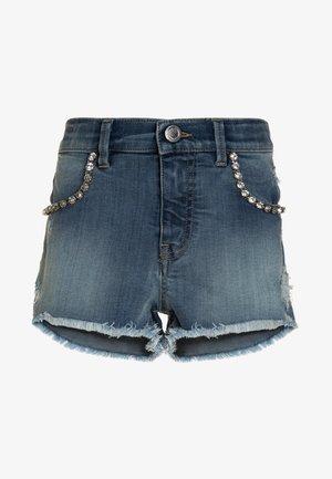 OMBRONE - Shorts vaqueros - blu laggiu'