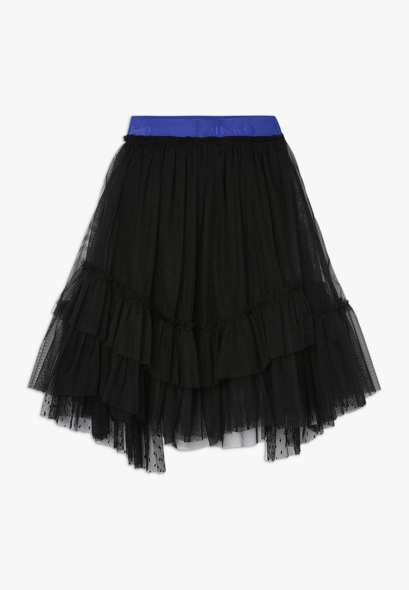 Pinko Up - BAMBINAIA GONNA PLUMETIS - Áčková sukně - black