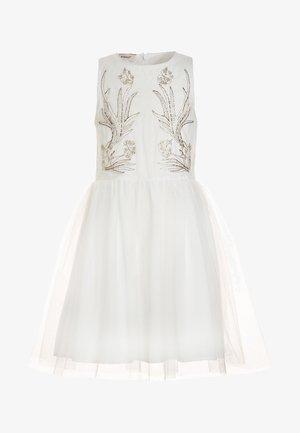 PARANA ABITO RICAMATO - Cocktail dress / Party dress - bianco