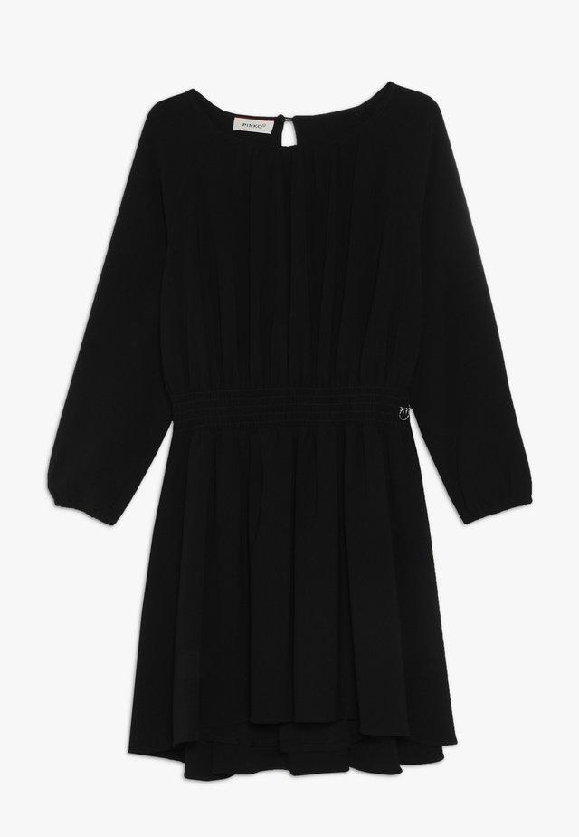 ADDESTRATORE ABITO GEORGETTE - Vestito elegante - black