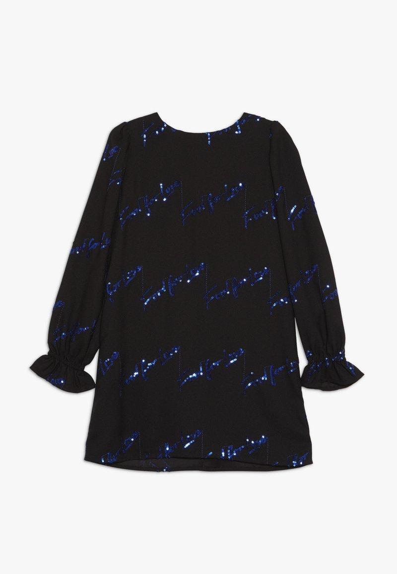 Pinko Up - NATUROPATA ABITO CREPE RICAMO - Cocktailkleid/festliches Kleid - black