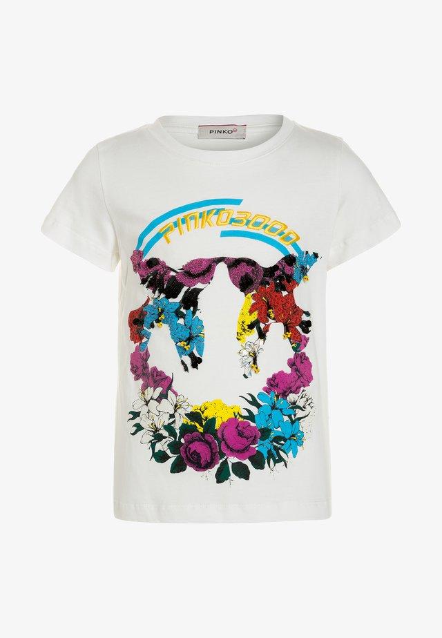ORINOCO  - T-shirts print - bianco