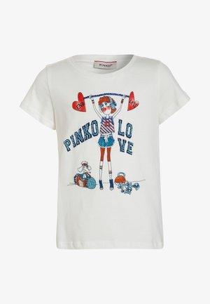 Print T-shirt - bianco/biancaneve