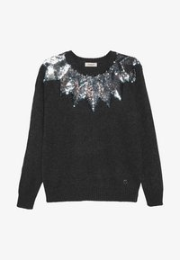 Pinko Up - PRESIDE MAGLIA MISTO - Jumper - dark grey - 2