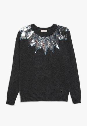 PRESIDE MAGLIA MISTO - Pullover - dark grey