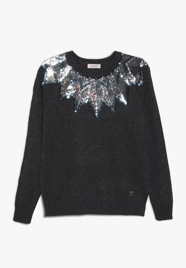 PRESIDE MAGLIA MISTO - Stickad tröja - dark grey