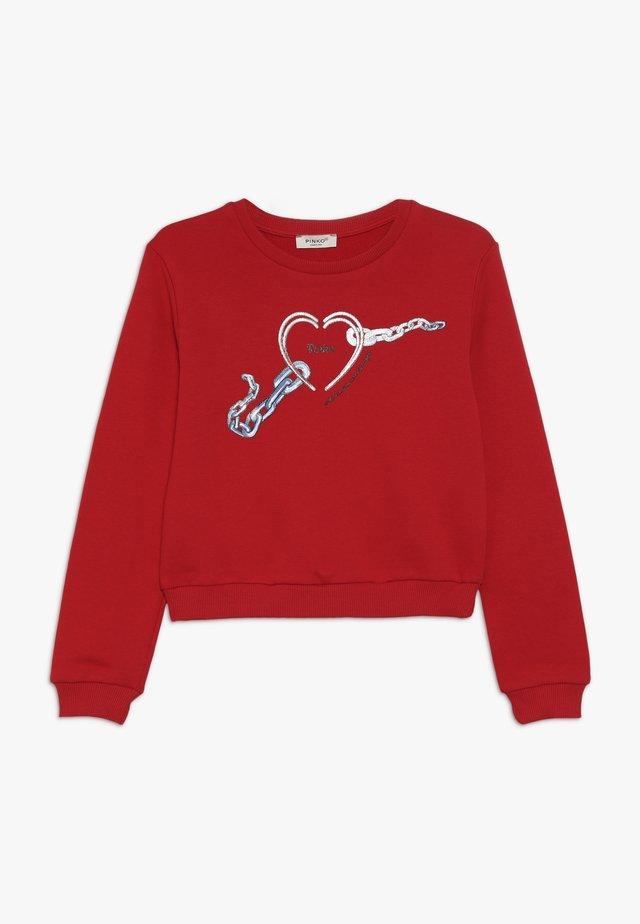 MEDICO MAGLIA  - Sweatshirt - red