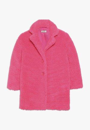 AEROGRAFISTA CAPPOTTO ORSETTO - Winter coat - pink