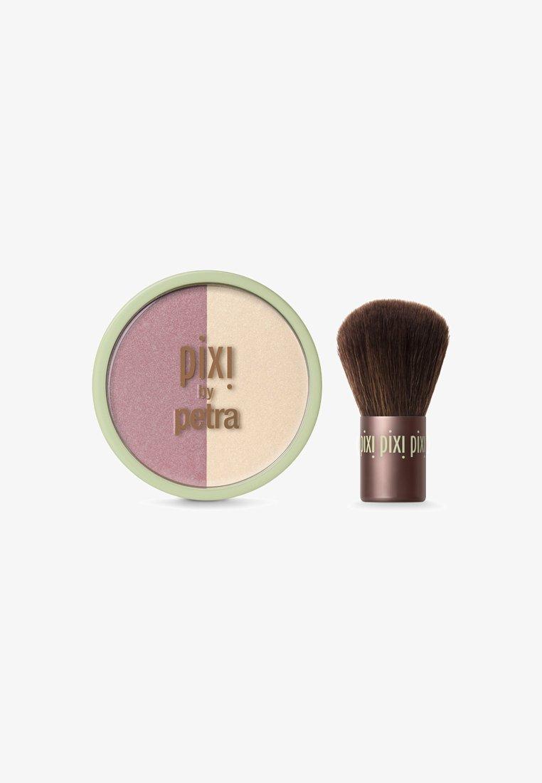 Pixi - BEAUTY BLUSH DUO + KABUKI - Blush - rose gold