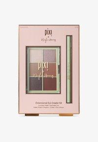 Pixi - DIMENSIONAL EYE CREATOR KIT - Eyeshadow palette - let's talk eyes palette + black liner duo-weylie - 0