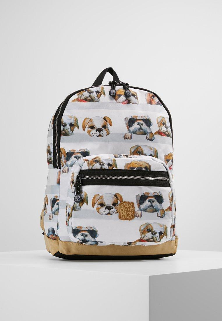 pick & PACK - DOGS BACKPACK - Mochila - white