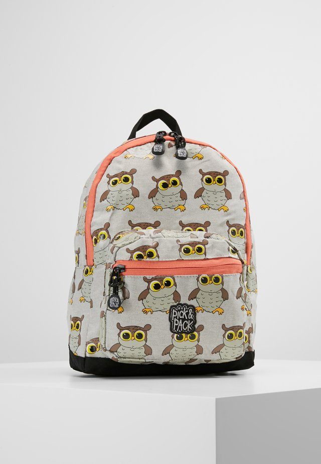 OWL MINI BACKPACK - Rygsække - light grey