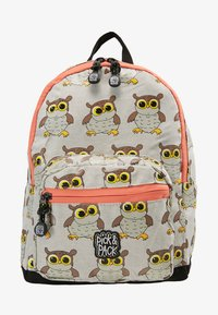 pick & PACK - OWL MINI BACKPACK - Sac à dos - light grey - 1