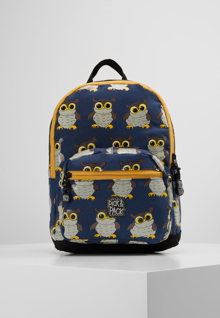 pick & PACK - OWL MINI BACKPACK - Sac à dos - blue