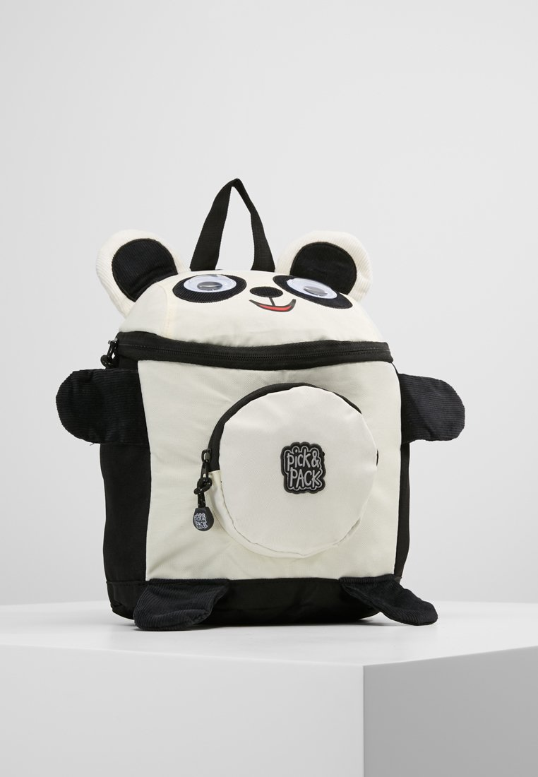 pick & PACK - PANDA BACKPACK - Zaino - white