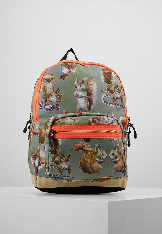 SQUIRELL - Tagesrucksack - green