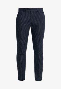 Piazza Italia - PANTALONE - Suit trousers - blue - 4
