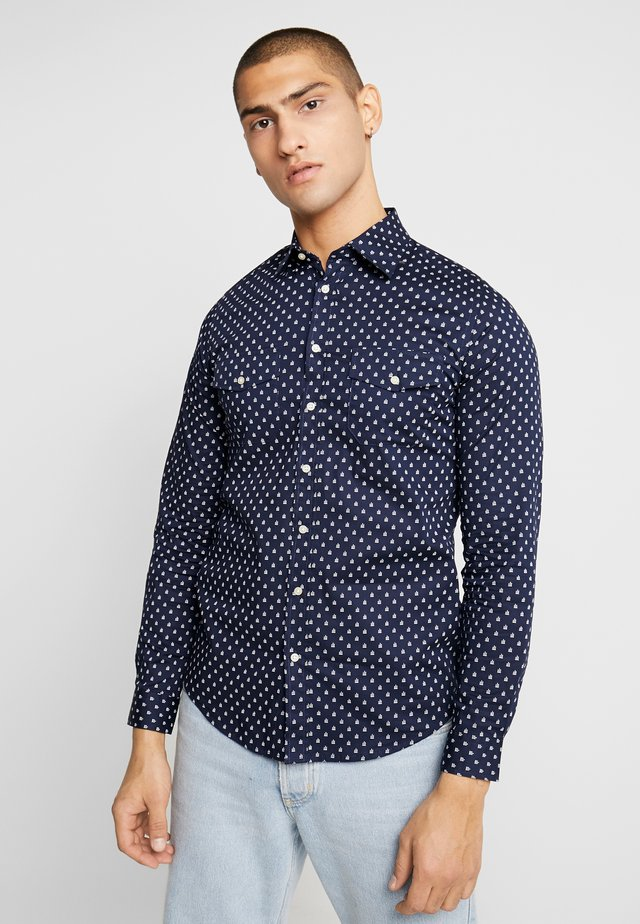 CAMICIA SLIM FIT - Overhemd - blue