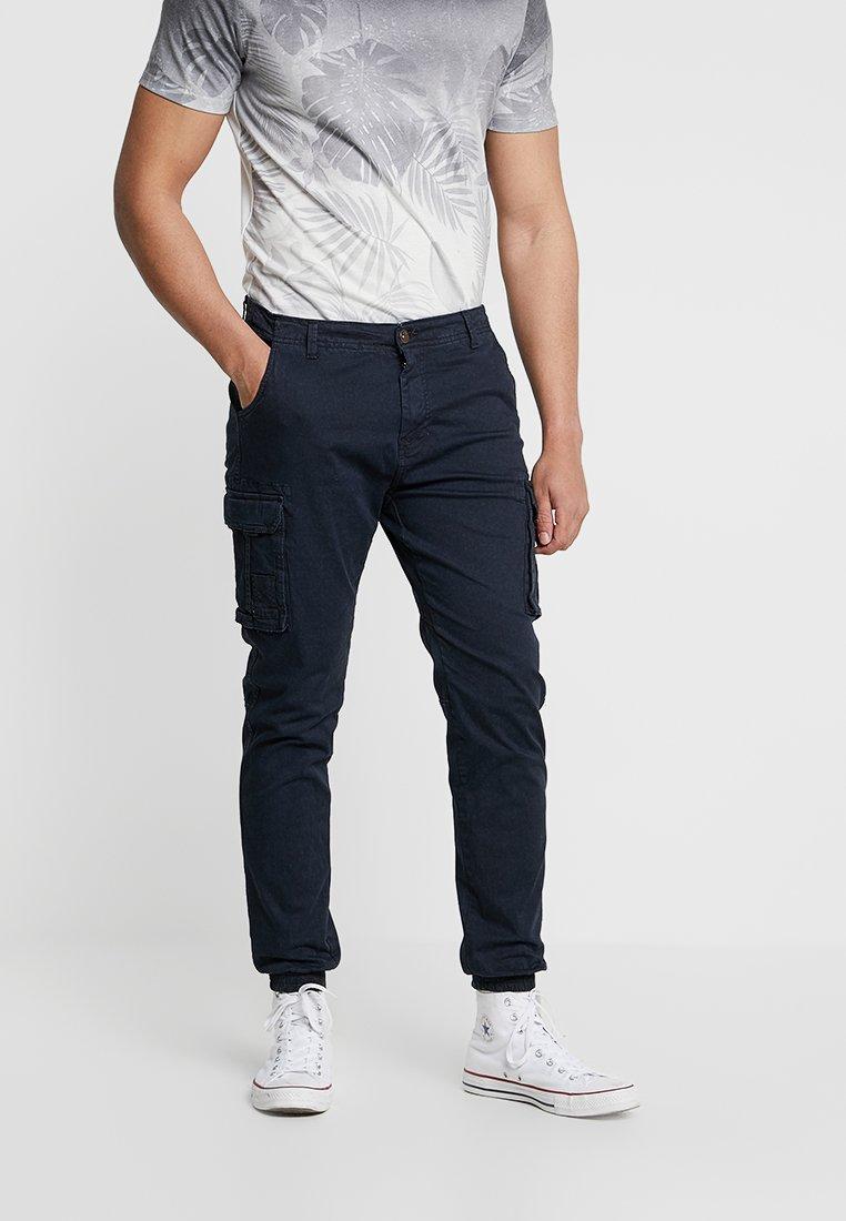 PULL&BEAR GERAFFTE Pantalon cargo khaki ZALANDO.FR