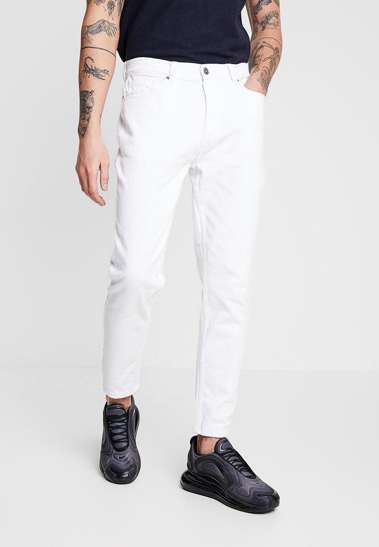 Piazza Italia - Zúžené džíny - bianco